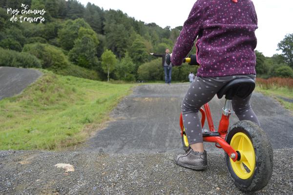 Piste de BMX à 2 ans, Moulin du Duc à Lannion