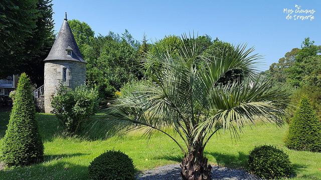 Petit patrimoine dans le Parc Sainte Anne, Lannion