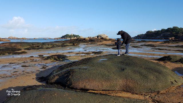 Crapahuter dans les rochers de Tourony