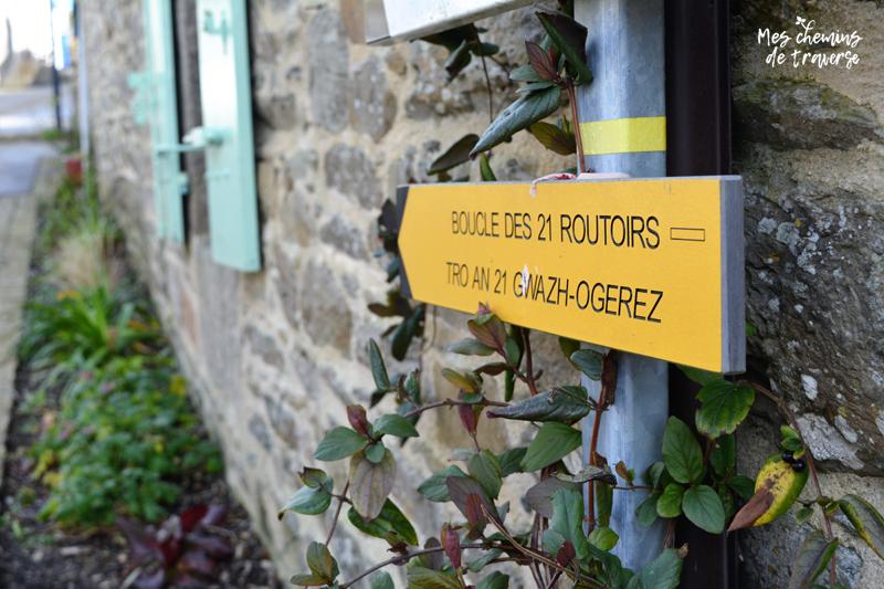 Boucle des 21 routoirs à Pouldouran, Trégor, Bretagne