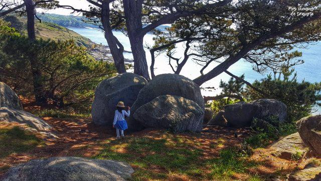Coin secret #3 : Chaos rocheux sur les hauteurs de la plage de Beg Leguer à Lannion