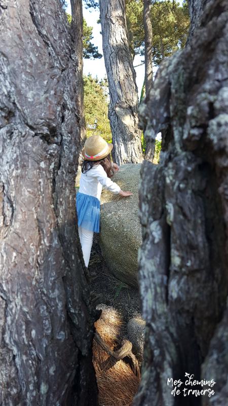 Enfant qui escalade le chaos à Beg Leguer