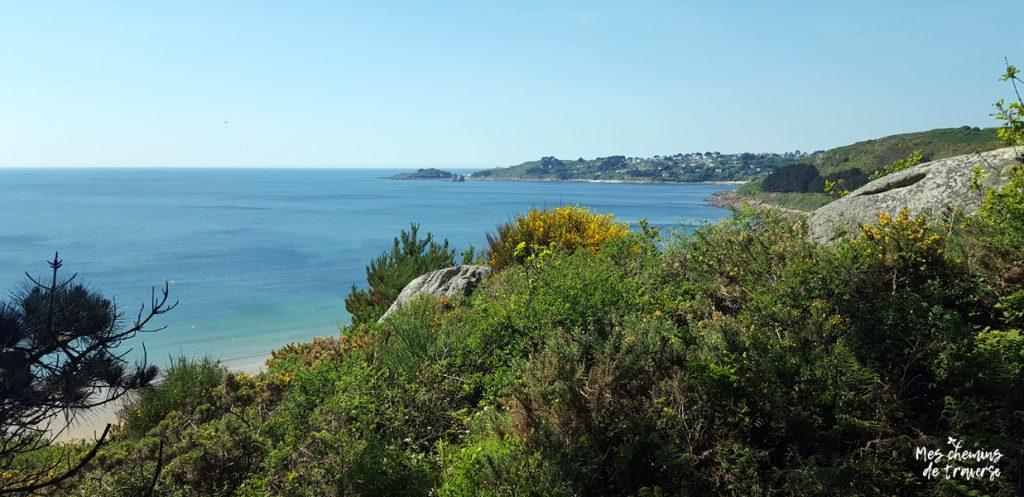 Point de vue sur Trébeurden depuis Beg Leguer