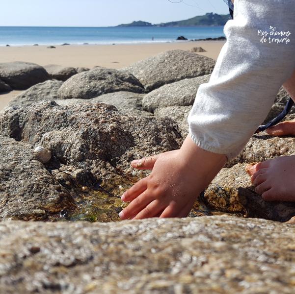Patouille sur la plage de Lannion