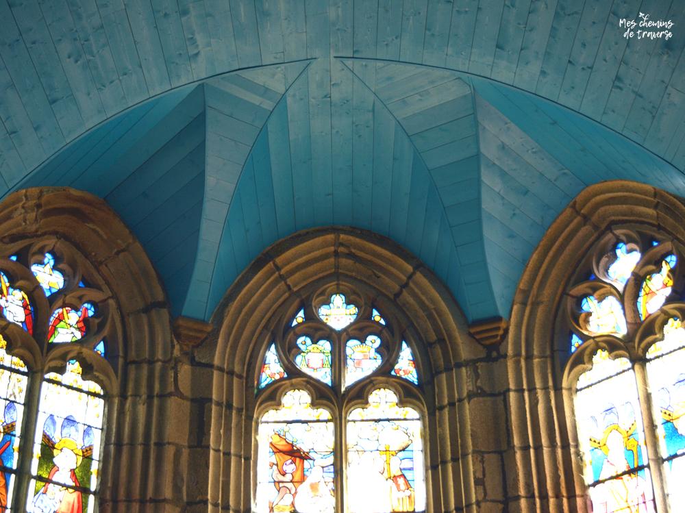 le choeur de l'église Beaumanoir de Ploulec'h