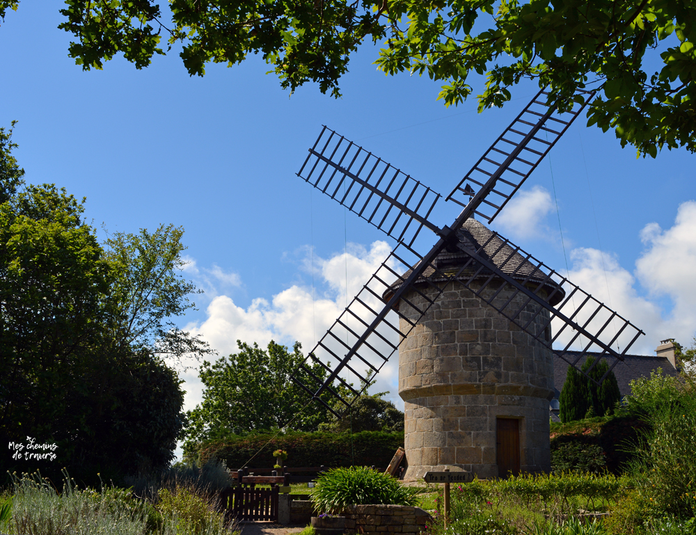 le moulin à vent de Crec'h Olen, Yaudet