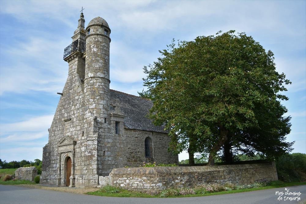 La chapelle Saint Herbot à Ploulec'h, près de Lannion