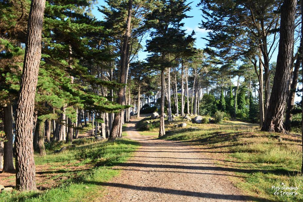 Ambiance du domaine du Dourven, Bretagne