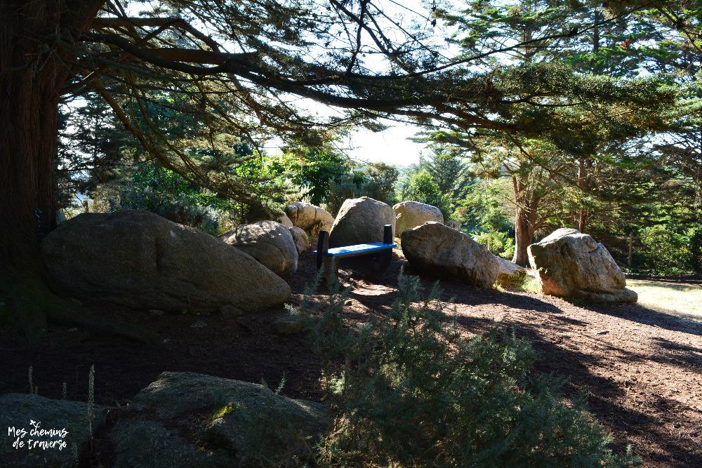 Petit amas de rochers au Dourven