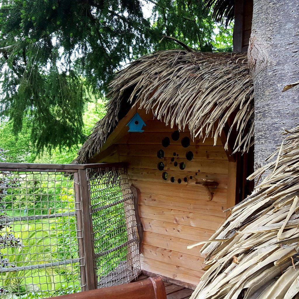Cabane du jardin de pierre