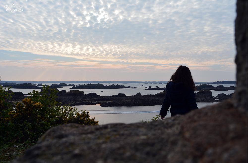 Panorama sur l'archipel de Bréhat