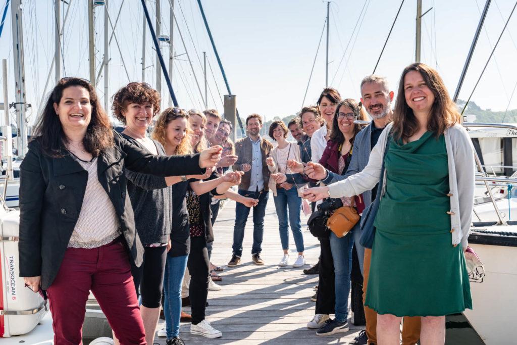 des entrepreneurs bretons organisent un mariage écoresponsable