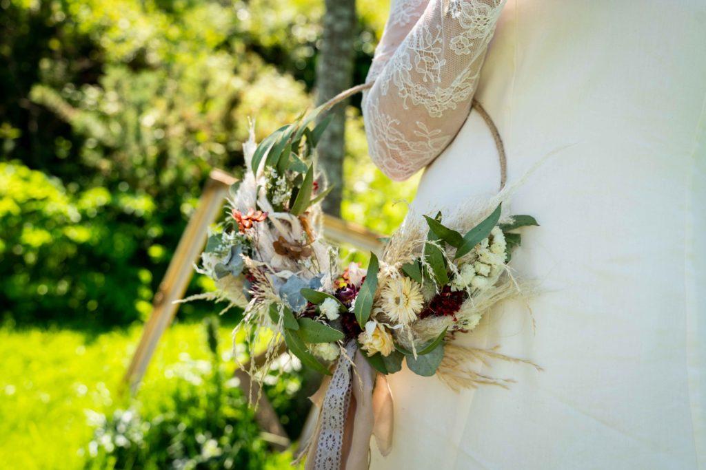 bouquet mariée local
