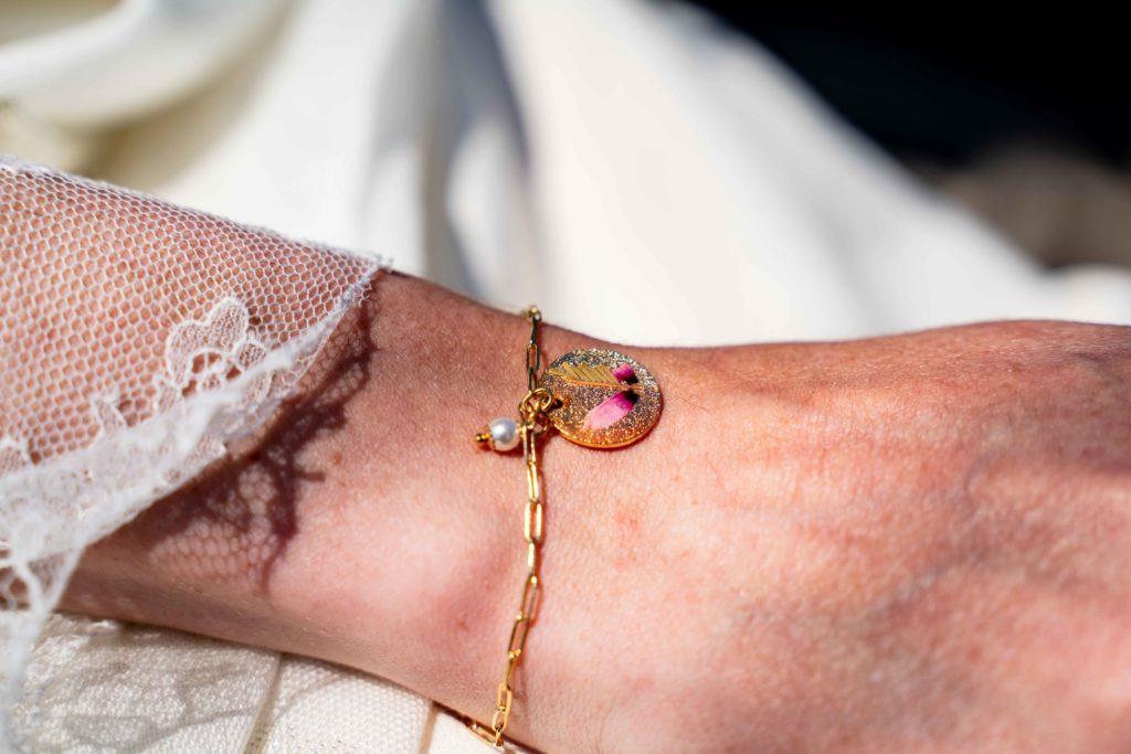 bracelet mariées by heloise