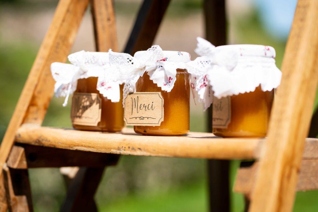 cadeaux invités mariage miel
