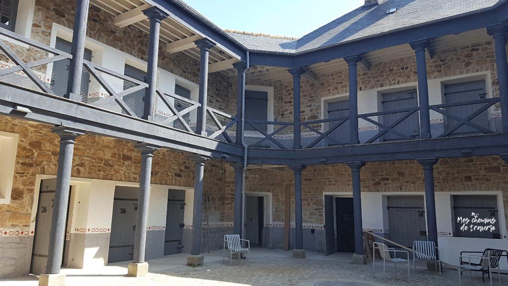 La prison de Guingamp, étonnante