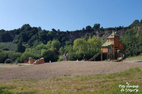 Le toboggan géant du Moulin du Duc, Lannion