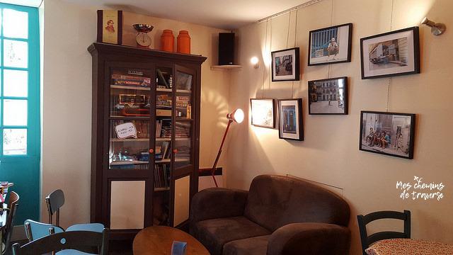 Espace jeux de société au Truc Café à Lannion